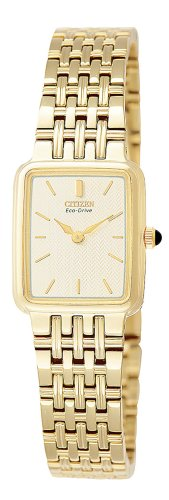 Citizen Eco-Drive Women's Gold-Tone Stainless Steel Watch #EW9472-59P