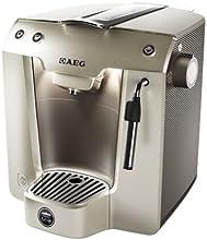 Lavazza A Modo Mio / AEG FAVOLA plus LM 5250 Espresso-Kaffeekapselautomat (Inklusive Milchaufschäumer MS 5000)