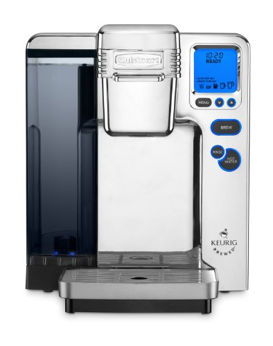 Cuisinart SS-700CH Single Serve Brewing System, Polished Chrome - Powered by Keurig Coffee Supplie