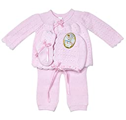 Will\'beth Pink Sweater Set - Newborn
