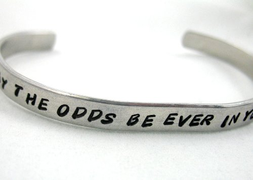 May the Odds Be Ever In Your Favor - Hunger Games Bracelet