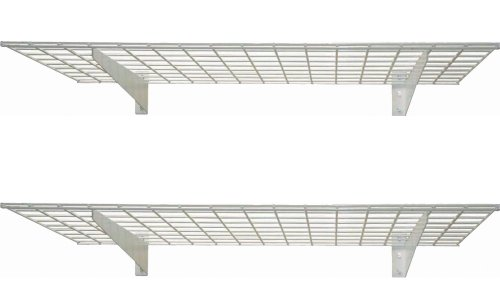 45-by-15-Inch Wall Shelf, 2-Pack