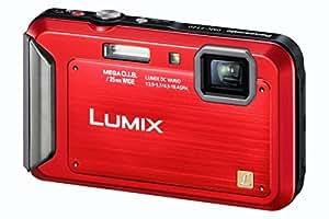 Panasonic DMC-FT20EF-R Lumix FT20 Appareil photo compact numérique 16 Mpix Zoom optique 5,1x Etanche 5m Rouge