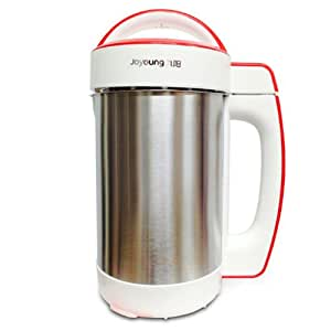 BONUS PACK! Joyoung CTS-1078S Easy-Clean Automatic Hot Soy Milk Maker with FREE Soybean Bonus Pack