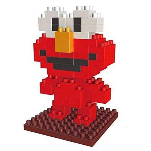 New LOZ Production Diamond Block Sesame Street Elmo Parent-child Games Building Blocks Children's Educational Toys