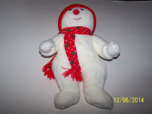 Ty Beanie Buddies - Snowboy the Snowman - 1