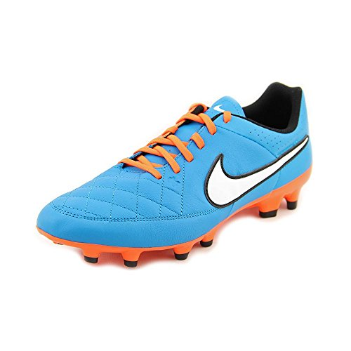 Nike Tiempo Genio Leather FG Soccer Cleat (Neo Turquoise) Sz. 10.5