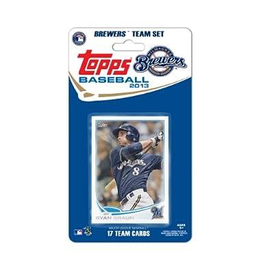 MLB Milwaukee Brewers Team Trading Card Set
