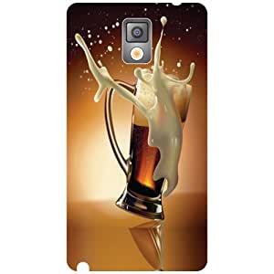 Samsung Galaxy Note 3 N9000 Back Cover - Beer Designer Cases