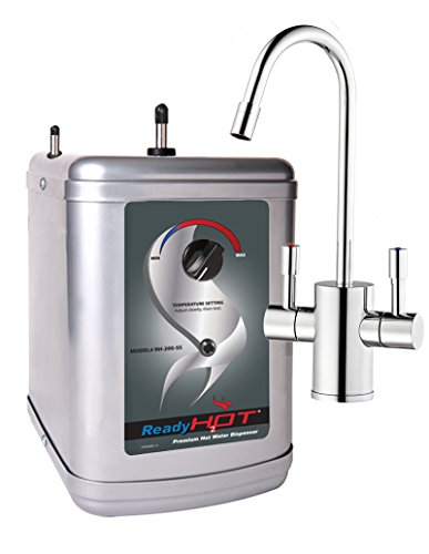 Ready Hot RH-200-F560-CH Stainless Steel Hot Water Dispenser System, Includes