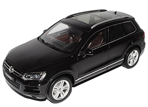 VW-Volkswagen-Touareg-C2-II-Schwarz-Ab-2010-118-GTA-Welly-Modell-Auto