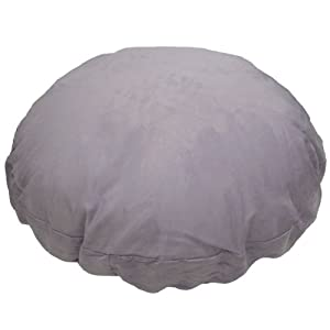 Faux Suede Lilac Purple Bean Bag Cat Dog Pet Bed