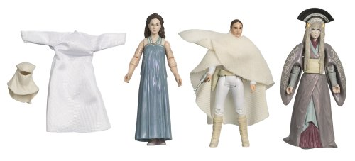 41rz0Ga4dGL Reviews Star Wars 3.75 Inch Scale Clone Wars Evolution Pack   Padme Amidala Legacy 3Pk