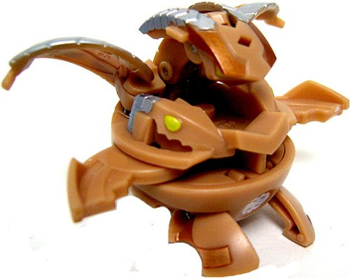 Bakugan New Vestroia Bakuneon LOOSE Single Figure Brown Sub