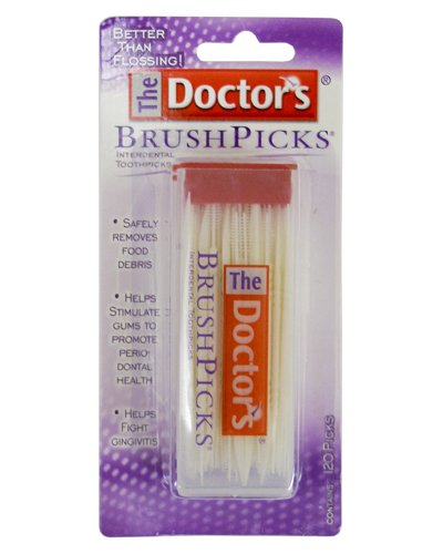 Special Pack Of 6 Doctor'S Brushpick 120 Per Pack X 6