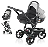 Jane Trider and Matrix Light 2 Travel System - Shadow Black/Grey