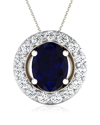 Art of Diamond Set catenina e pendente Oro Bianco