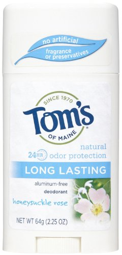 Tom's of Maine Natural Deodorant Aluminum Free Honeysuckle R