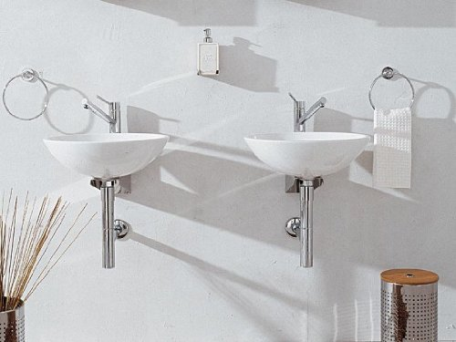 Keramik waschbecken gaste wc cgw153a handwaschbecken for Keramikspülbecken