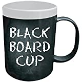 Modern Living Chalk Board Coffee Mug (White)
