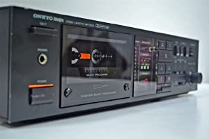 Onkyo Stereo Cassette Deck Tape Player Recorder TA-2044