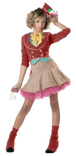 The Mad Hatter Costume - Teen Large