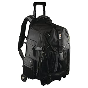 Ape Case Pro Digital SLR and Video Camera Convertible Rolling Backpack (ACPRO4000)