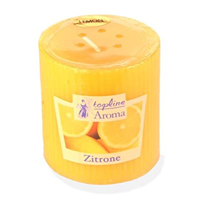 Scented Candle With Lemon Smell from Kerzenwelt