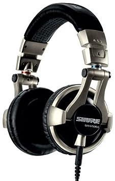 Shure SRH750DJ Casque DJ pro Puissance 3000mW Noir