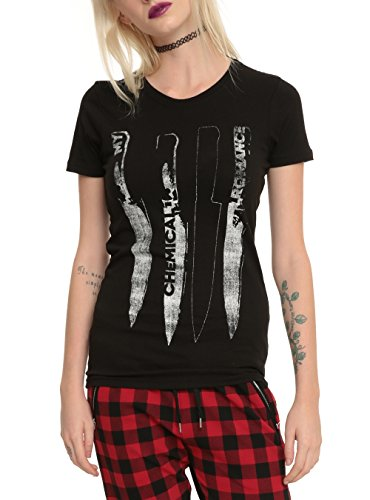 My Chemical Romance Knives Girls T-Shirt Size : Large