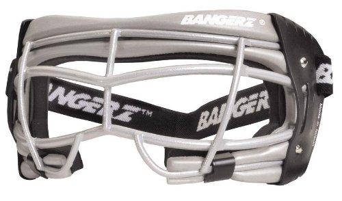 Bangerz HS7200LT-SS Womens Wire Lacrosse Goggle - Silver Foam-Silver Wire