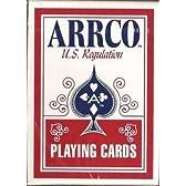 ARRCO(アルコ) U.S. Regulation トランプ 赤 ポーカーサイズ