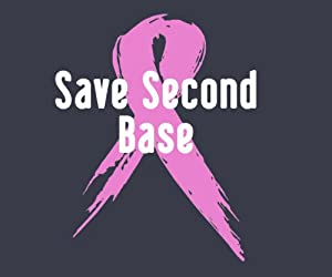 Save Second Base Breast Cancer Awareness T-Shirt (Unisex)