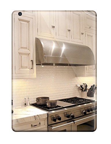 Forever Collectibles White Traditional Kitchen With Stainless Stove Amp Vent Hood Plus Marble Countertop Hard Snap-on Ipad Air Case (Countertop Hood compare prices)