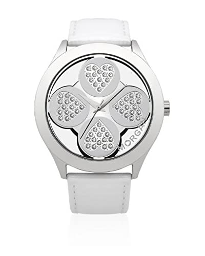 Morgan de Toi Reloj de cuarzo Woman Blanco 43 mm