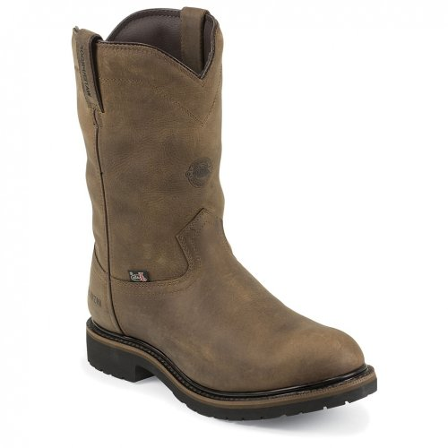 Justin Boots Wk4981 Men'S Wyoming Boots 8.5Eee