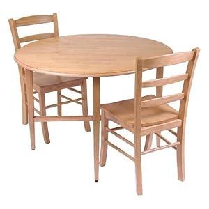 Hannah 3-pc. Dining Set - Light Oak