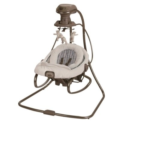 Graco Duet Connect 2-In1 Swing And Bouncer Elm