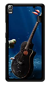 "Humor Gang Guitar Underwater Printed Designer Mobile Back Cover For ""Lenovo k3 note - Lenovo A7000 - Lenovo A7000 Plus - Lenovo A7000 Turbo"" (3D, Glossy, Premium Quality Snap On Case)"