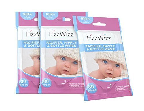 new-3-pack-all-natural-fizzwizz-pacifier-nipple-and-bottle-wipes-30-count