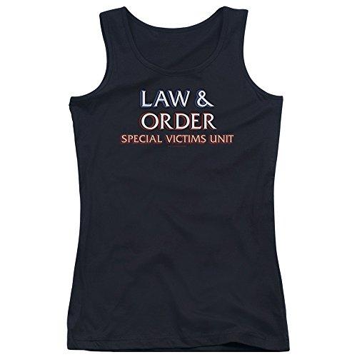 Law & ordine: Special Victim's Unit-Canottiera ragazzi, con Logo Nero  nero