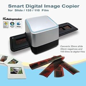 GMYLE (TM) 35mm Negative film diapo scanner USB 5,15 Mega CMOS Sensor Digital Image Copieur couleur Photo sous Windows