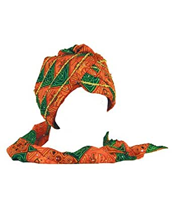 Sunshine Joy Pagri Safa Indian Wedding Turban Hat