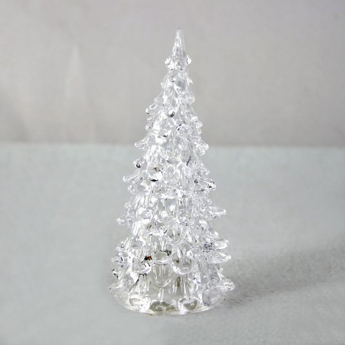 Niutop® Color Changing Icy Crystal Colorful Led Christmas Tree Table Decoration Light Xmas Gift Night Light