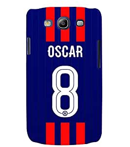 PRINTVISA Football Oscar Case Cover for Samsung Galaxy S3 I9300