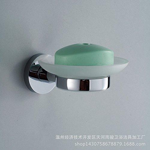 chrome-portasapone-bagno-a-disco-singolo-rack-rack-per-bagno