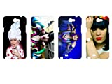 Wholesales 4pcs Jessie J Singer Fashion Hard back cover skin case for samsung galaxy note n7100-n7jj4004