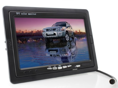 7 inch TFT LCD Digital Car Rear View Monitor with Waterproof Car Rear View Camera combo