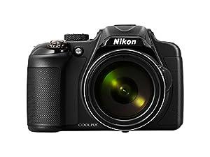 """Nikon Coolpix P600  Appareil photo numérique compact 16 Mpix Ecran 3""""""""Zoom optique 60x Noir"""