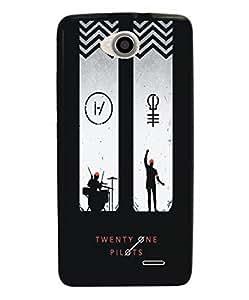 Techno Gadgets Back Cover for Panasonic Eluga S
